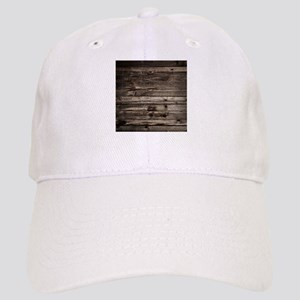 rustic primitive grey barn wood Cap