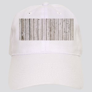 shabby chic white barn wood Cap