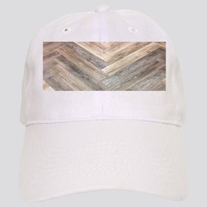 farmhouse geometric barn wood Cap