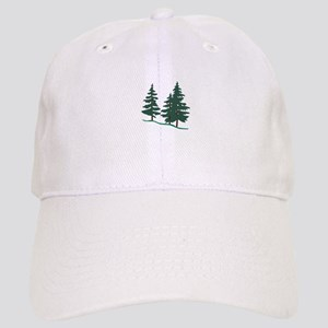 Evergreen Trees Baseball Cap