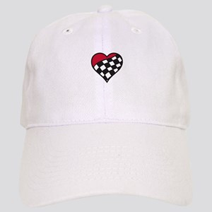 Racing Heart Baseball Cap