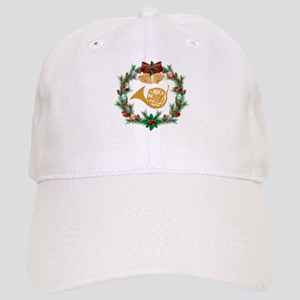French Horn Christmas Music Cap