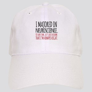 Majored in Neuroscience Cap