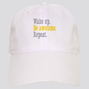 Wake Up Be Awesome Cap