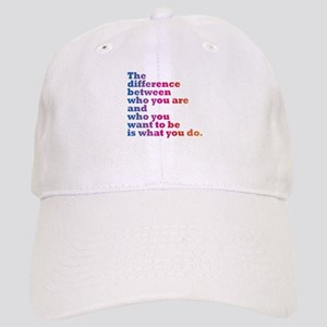 The Difference (blue/pink) Cap