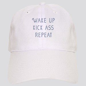 Wake Up Baseball Cap