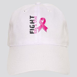 Licensed Fight Like a Girl Cap
