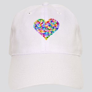 Rainbow Heart of Hearts Cap