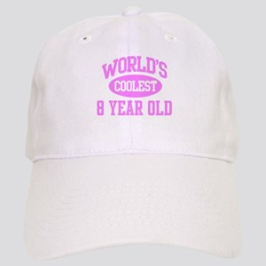 Coolest 8 Year Old Cap