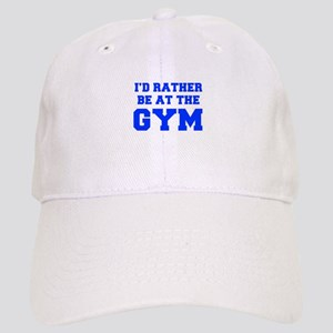 ID-RATHER-BE-AT-THE-GYM-FRESH-BLUE Baseball Cap