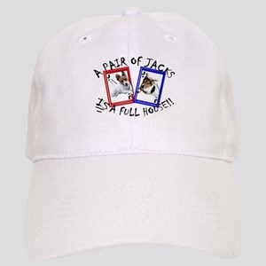 "Jack Russell Terrier ""PAIR OF JACKS"" Cap"