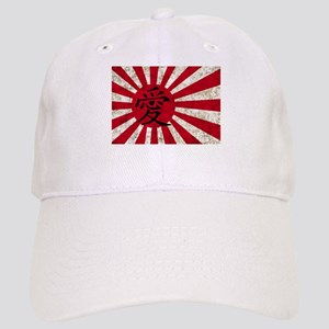 Japanese Love Flag Cap