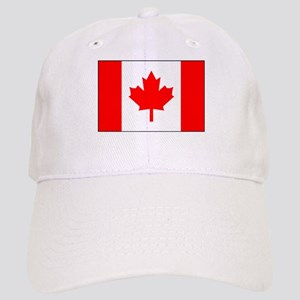 Canadian Flag 4 Cap