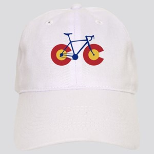 Colorado Flag Bicycle Cap
