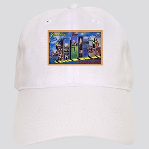 San Diego California Greetings Cap