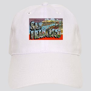San Francisco California Greetings Cap