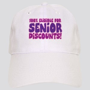 ELIGIBLE FOR SENIOR DISCOUNTS! Cap