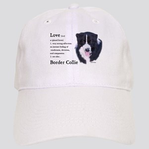 Border Collie Love Is Cap