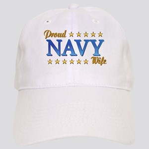 Proud Navy Wife Cap