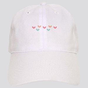 Hearts Border Baseball Cap