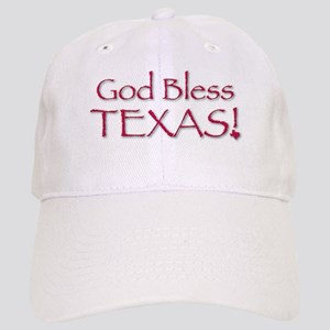 God Bless Texas! Cap