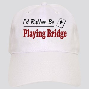Rather Be Playing Bridge Cap