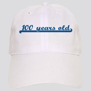 100 years old (sport-blue) Cap