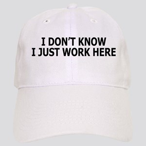 I just work here Cap
