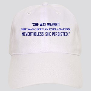 SHE PERSISTED. Baseball Cap