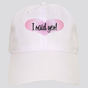 I Said Yes! - Pink Heart Cap