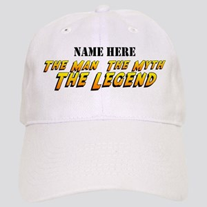 Man Myth Legend Custom Cap