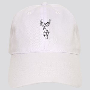 black-phoenix-bird Cap