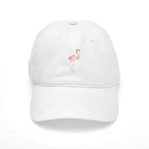 7ab024b64a1 Watercolor Flamingo Cap