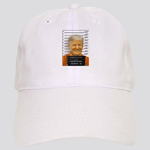 Trump Mugshot Photo Moron 45 Cap
