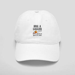 5f46b6c0 Hug A Logger You'll Never Go Back To Trees Cap