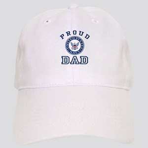 35dea94cfa0a1 Proud Navy Dad Hats - CafePress