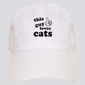 d4483489568 I Love This Guy Hats - CafePress