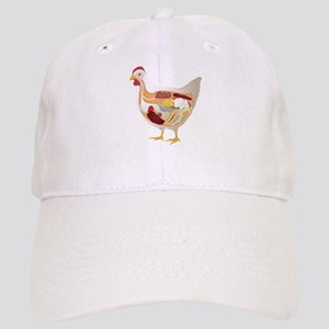 chicken pie guts Baseball Cap