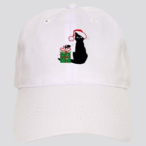 Santa Cat & Mouse Cap