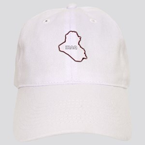 Lebanon Map Outline Arab League Country Isolated I Hats - CafePress