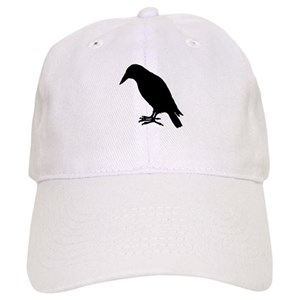afeb8b4cf Crow Silhouette Baseball Cap