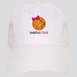 Pink Basketball Chick Cap