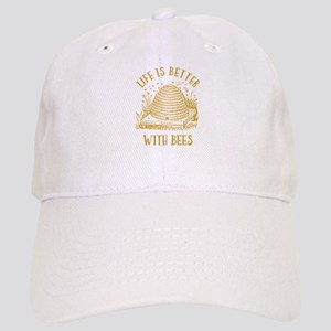 Life's Better With Bees Cap