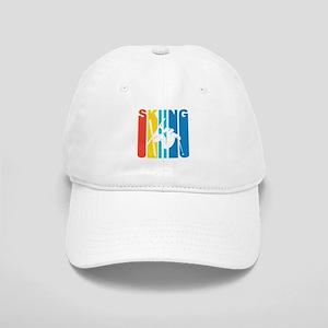 238b528012c5b Retro Skiing Baseball Cap