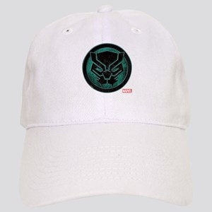 Black Panther Grunge Icon Cap