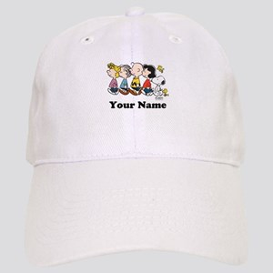 Peanuts Walking No BG Personalized Cap
