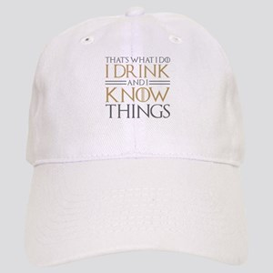 Funny Drinking Quotes Hats - CafePress