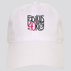 895897895 Fun Fabulous 40th Birthday 35 Button438309771 Hats - CafePress