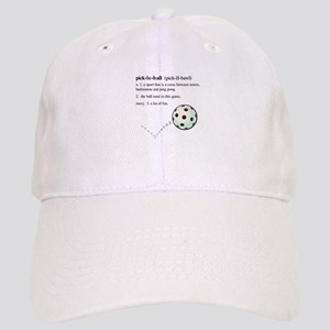 06185f4834350 pickleball definition with ba Cap