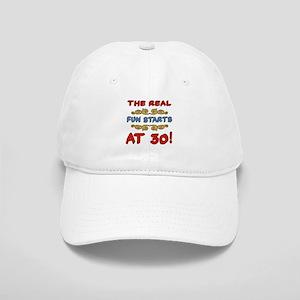 Real Fun 30th Birthday Cap
